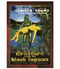 Classic Sci-Fi and Horror Posters - Chase Card 6C (Creature of the Black Lagoon)