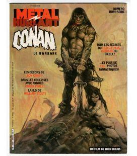 Métal Hurlant Hors Série N°74 bis - 1982 - Ancien magazine français spécial Conan la barbare
