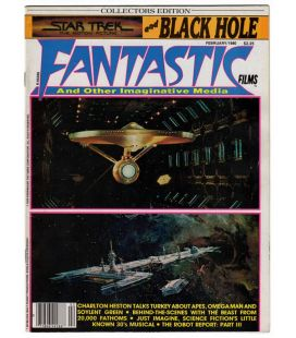Fantastic Films Magazine N°14 - Vintage February 1980 issue with Star Trek