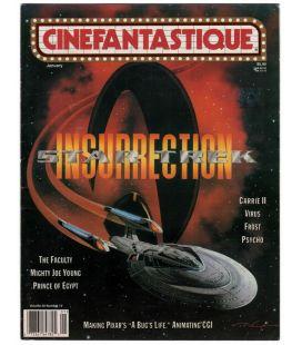 Cinefantastique - Janvier 1999 - Magazine américain avec Star Trek Insurrection