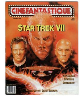 Cinefantastique Magazine - February 1995 - US Magazine with Star Trek 7