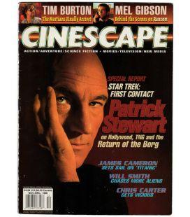 Cinescape - Novembre 1996 - Magazine américain avec Patrick Stewart