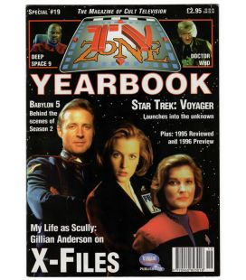 TV Zone Yearbook N°19 - Décembre 1995 - Magazine anglais avec X-Files