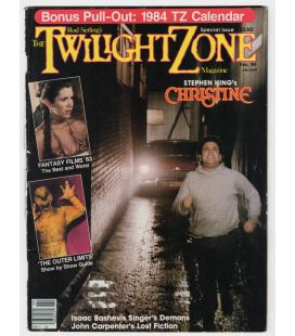 The Twilight Zone Magazine - Vintage February 1984 issue with Christine