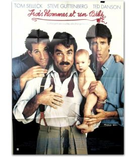 """Three Men and a Baby - 47"""" x 63"""""""