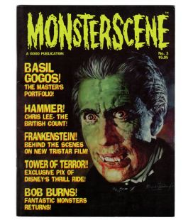 Monsterscene Magazine N°3 - Fall 1994 - US Magazine with Dracula