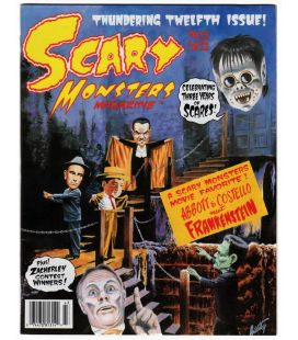 Scary Monsters N°12 - Septembre 1994 - Magazine américain avec Abbott and Costello Meet Frankenstein