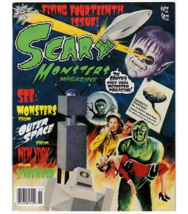 Scary Monsters N°14 - Mars 1995 - Magazine américain avec Invaders From Mars