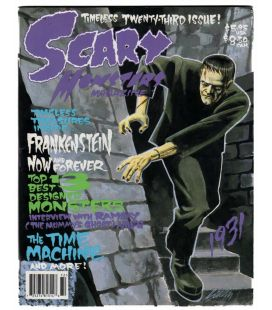 Scary Monsters N°23 - Juin 1997 - Magazine américain avec Frankenstein
