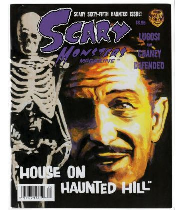 Scary Monsters Magazine N°65 - Janvier 2008 - Magazine with Vincent Price