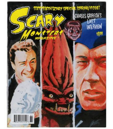 Scary Monsters Magazine N°66 - April 2008 - Magazine with It Conquered the World