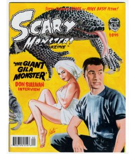 Scary Monsters N°67 - Juin 2008 - Magazine américain avec The Giant Gila Monster