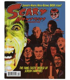 Scary Monsters N°79 - Juin 2011 - Magazine américain avec Christopher Lee