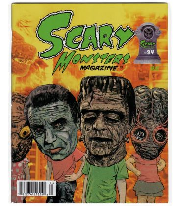 Scary Monsters N°94 - Octobre 2014 - Magazine américain avec Frankenstein