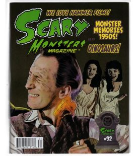 Scary Monsters Magazine N°92 - April 2014 - Magazine with Peter Cushing