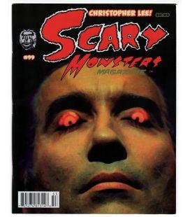 Scary Monsters N°99 - Octobre 2015 - Magazine américain avec Christopher Lee