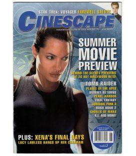 Cinescape - Mai 2001 - Magazine américain avec Angelina Jolie