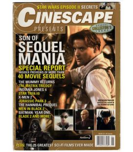 "Cinescape - Spécial ""Sequel Mania"" - Magazine américain avec Brendan Fraser"