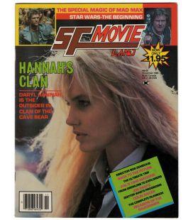 SF Movieland N°35 - Novembre 1985 - Ancien magazine américain avec Daryl Hannah