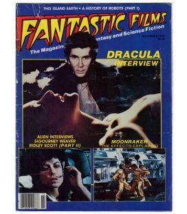 Fantastic Films N°12 - Novembre 1979 - Ancien magazine américain avec Dracula