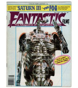 Fantastic Films Magazine N°16 - Vintage May 1980 issue with Saturn 3