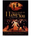 "Everyone Says I Love You - 47"" x 63"" - French Poster"