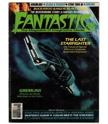Fantastic Films N°42 - Novembre 1984 - Ancien magazine américain avec Starfighter