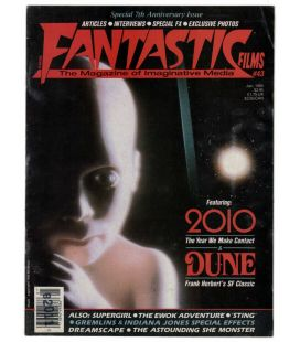 Fantastic Films Magazine N°43 - Vintage January 1985 issue with 2010