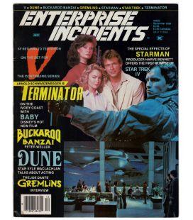 Enterprise Incidents N°24 - Décembre 1984 - Ancien magazine américain avec Terminator