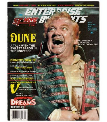 Enterprise Incidents Magazine N°27 - Vintage March 1985 issue with Dune