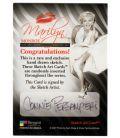 Marilyn Monroe - Trading Cards - Sketch B by Connie Persampieri