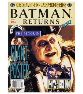 Batman Returns - Official Poster Magazine 2 with the Penguin - 1992
