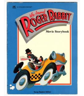 Who Framed Roger Rabbit - Vintage Book - Movie Storybook