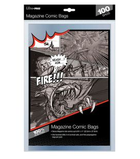 Magazine size bags - Pack of 100