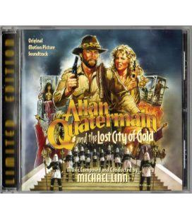 Allan Quatermain et la cité de l'or perdu - Trame sonore de Michael Linn - CD usagé édition limitée