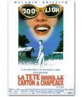 """La Tête dans le carton à chapeaux - 47"""" x 63"""" - Affiche française"""