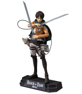 "Attack on Titan - Eren Jaeger - Figurine manga 7"" Color Tops N°32"