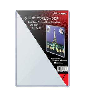 "Toploader 6"" x 9"" - Ultra Pro - Pack of 25"