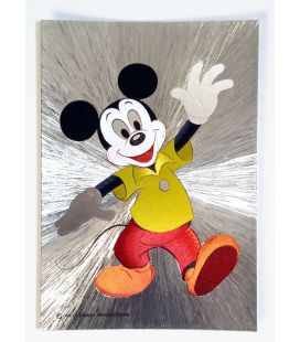Mickey Mouse - Ancienne carte postale brillante