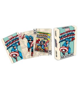 Captain America - Playing Cards (Comic version)