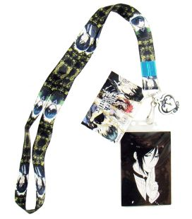 Black Butler - Sebastion and Ciel - Lanyard manga