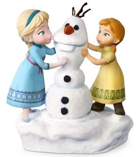 Frozen - Anna, Elsa and Olaf - Christmas Tree Musical Ornament