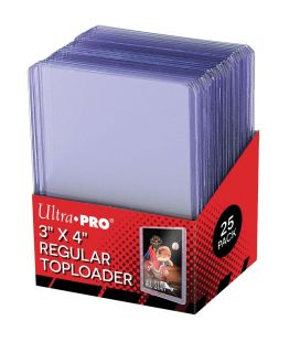 "Toploader 3"" x 4"" - Ultra Pro - Pack of 25"
