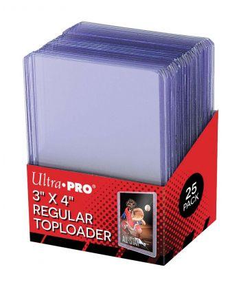"Toploader 3"" x 4"" - Ultra Pro - Pack of 25"