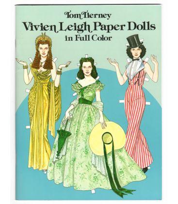 Vivien Leigh - Livre à découper Paper Dolls en couleur