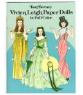 Vivien Leigh - Book Paper Dolls in Full Color