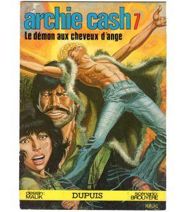 Archie Cash N°7 - Le démon aux cheveux d'ange - Comic Book