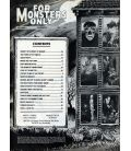 For Monsters Only N°8 - Juillet 1969 - Ancien magazine américain avec Dracula