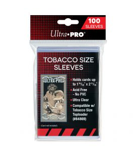 Tobacco Size Card Sleeves - Ultra Pro - Pack of 100