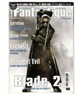 Fantastique Zone Magazine N°5 - May 2001 issue with Blade 2